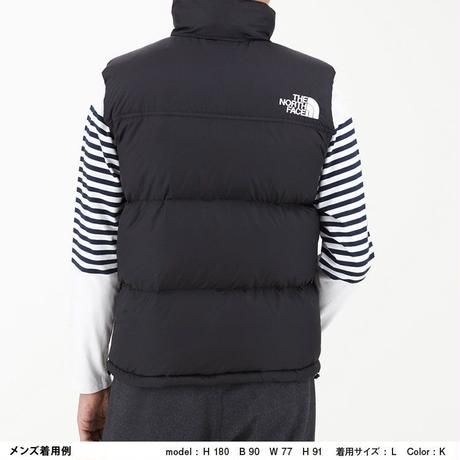 【The North Face】Nuptse Vest  (ヌプシベスト(メンズ))TNFブルー(TB) ND91843