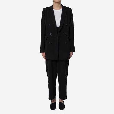 【Greed International グリードインターナショナル】Standard Double Cloth Jacket in Black