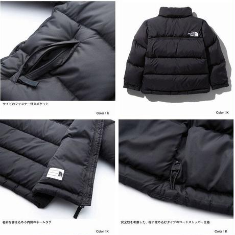 【The North Face】 Nuptse Jacket  KIDS(ヌプシジャケットキッズ)TNFブルー(TB) NDJ91863 150