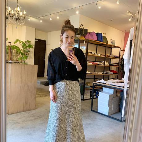 【CLOCHE クロシェ】skirt (総柄スカート)