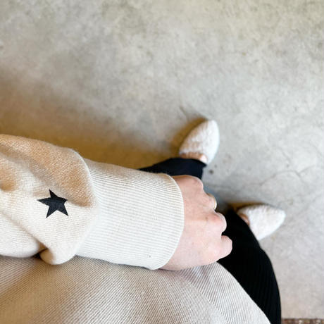 【siro de labonte シロ】another hoody  (コットンスウェット)beige -R113205
