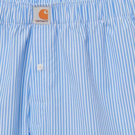 【Carhartt WIP /カーハートウィップ】COTTON BOXERS - Jack Stripe, Wave I029-372