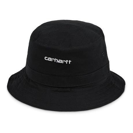 【Carhartt WIP /カーハートウィップ】SCRIPT BUCKET HAT  (バケットハット) I026-217 BLACK