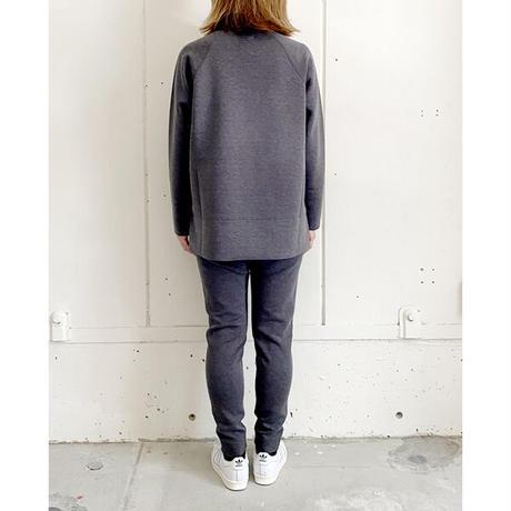 ★7月25日先行予約★【Bed&Breakfast】【quan別注】double air sweat pants (ダブルエアースウェットパンツ)BLACKMIX