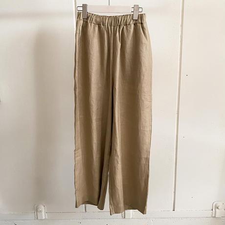 【siro de labonte シロ】FRENCH LINEN PANTS   (フレンチリネンパンツ)2color- R123304