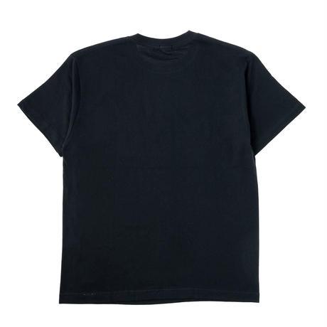 【HAINU ハイヌ】my base t-shirts   (マイベースティーシャツ)black/white