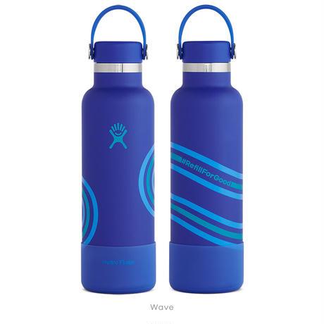 【限定モデル】【ハイドロフラスク/Hydro Flask】 REFILL FOR GOOD COLLECTION 21oz Standard Mouth ステンレスボトル(621ml)