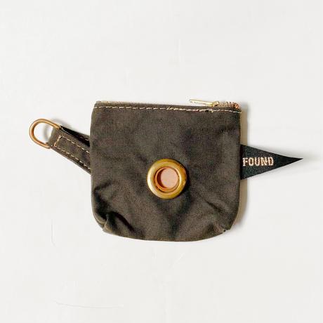 【Found My Animal /ファウンドマイアニマル】POOP BAG POUCH    (プープバッグ)OLIVE
