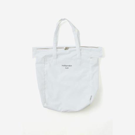 【Bed&Breakfast ベッド&ブレイクファースト】Holidaymaker Bag (トートバッグ)White