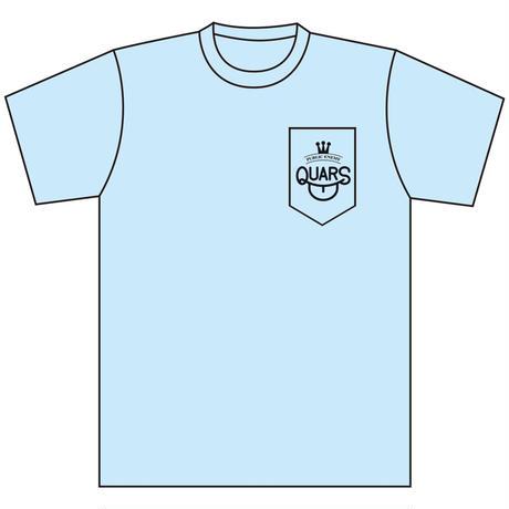 QUARS POCKET Tee LIGHT BLUE(COVID-19 LIMITED)