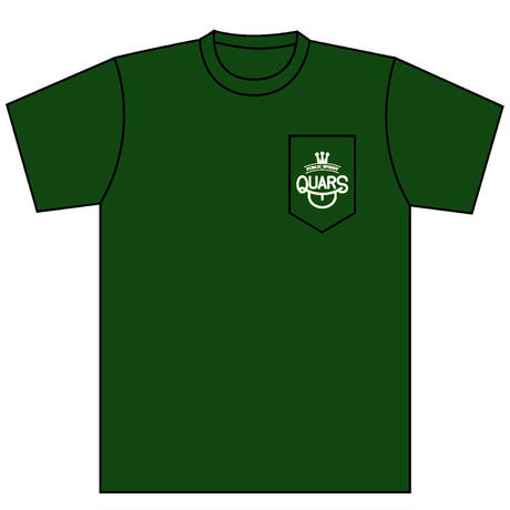 QUARS POCKET Tee FOREST GREEN(COVID-19 LIMITED)