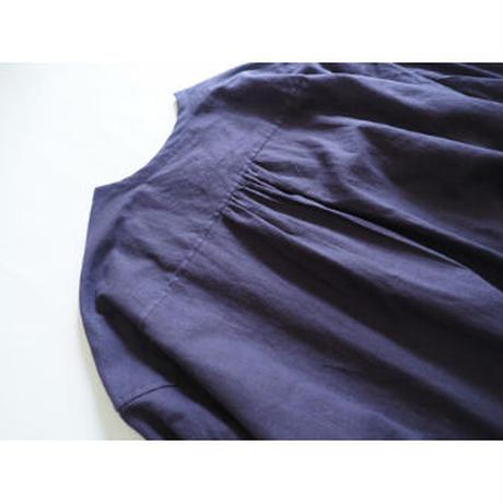 No.281op(P) ラウンドネックドレス/パープル