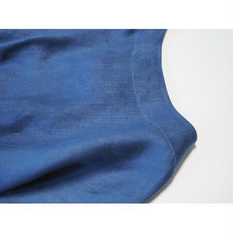 No.285op(N) リネンボートネックドレス/ネイビー