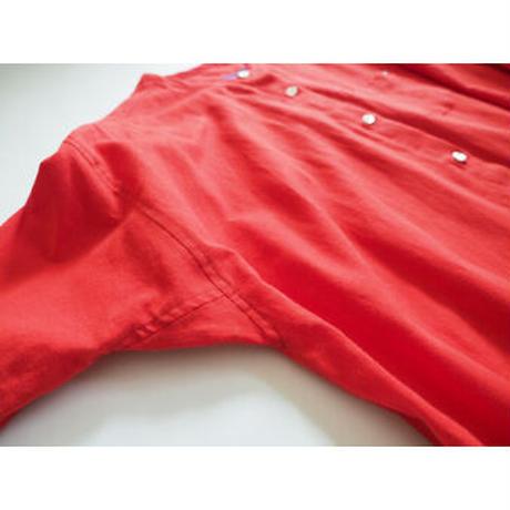 No.281op(R) ラウンドネックドレス/レッド