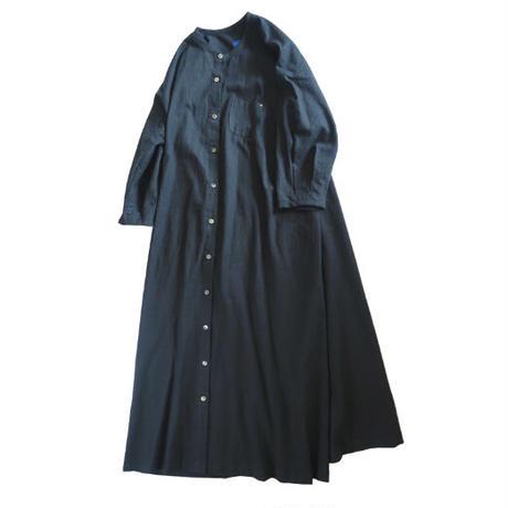 No.281op(BK) ラウンドネックドレス/ブラック