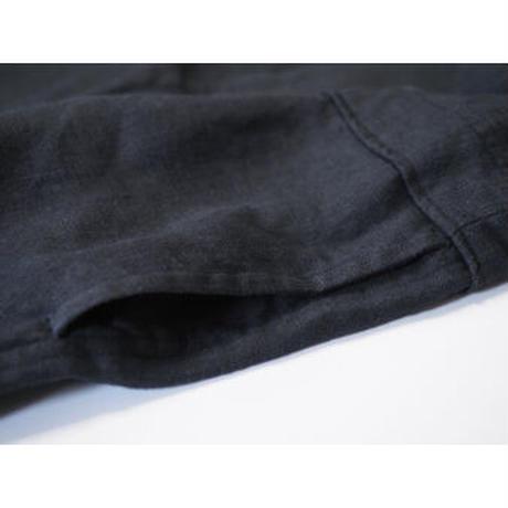 No.283sp(BK) リネンサロペット/ブラック
