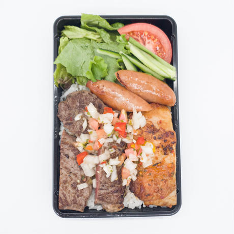 伝説のスタグル キボン!のMIX弁当(3食セット)
