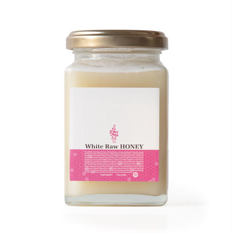 White Raw Honey 230g 角瓶