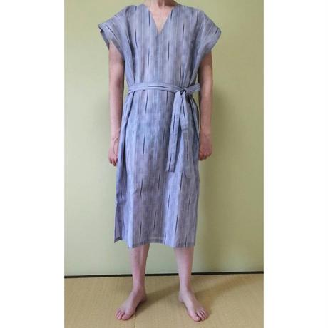 浴衣地ラクーイウェア  締めつけゼロ、開放感MAX ストレスフリーの部屋着 はだけない浴衣 男性用 安心の日本製!
