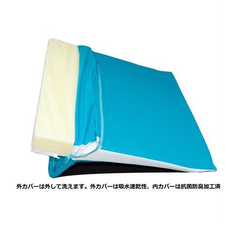 「ラチェットラクーイ」14段階 高さ調整付き背上げマット 日本製