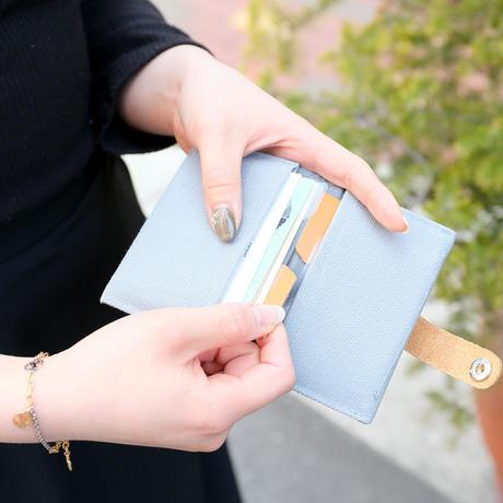 カードケース CANVAS グレー