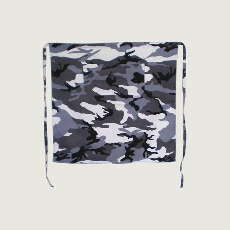 【イタリア製】サロンエプロン アークティック(迷彩柄)エゴシェフ