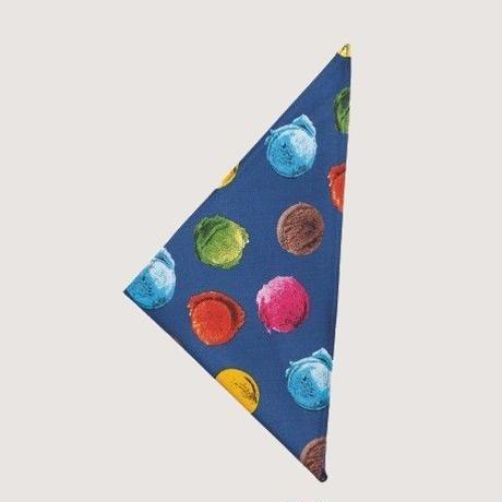【イタリア製】コックスカーフ アイスクリーム 三角巾