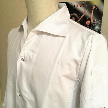 【イタリア製】コックコート VIP ホワイト(エアー・クール・プラス)エゴシェフ