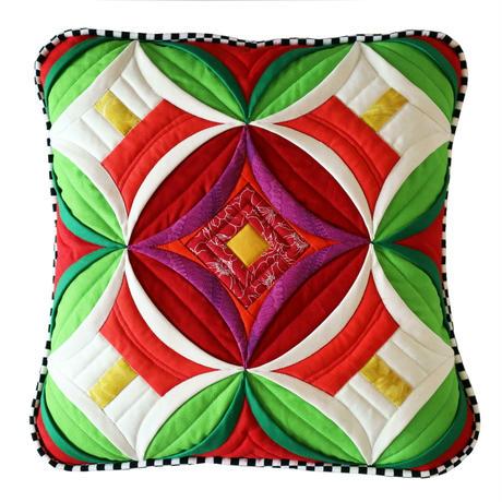 クリスマス クッション Christmas Pillow (pdf pattern)