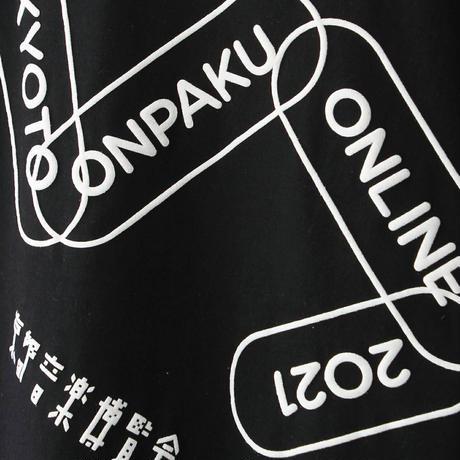 【京都音楽博覧会2021】オーバーサイズ Tシャツブラック