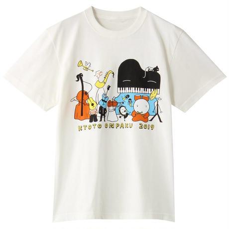 京都音楽博覧会2019オフィシャルTシャツ(オフホワイト)