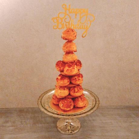 シュークリームタワーキット ベーシック Happy Birthday