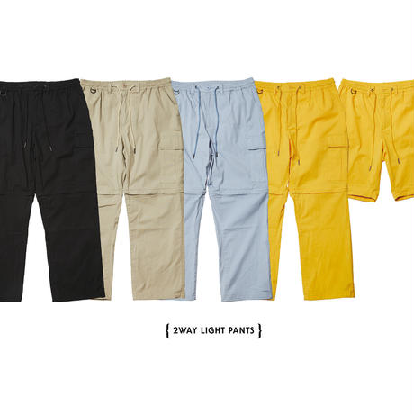 【Evisen skateboards】2WAY  LIGHT PANTS