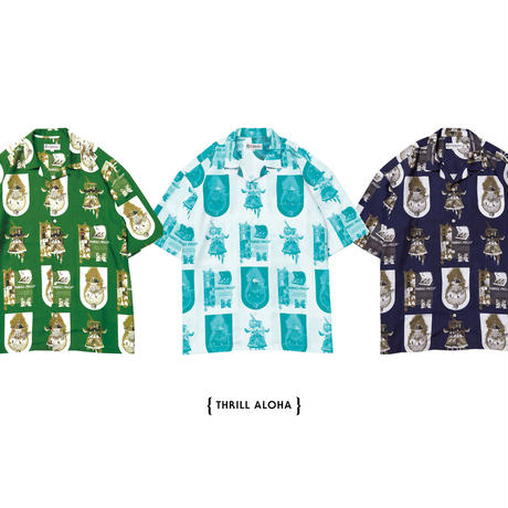 【Evisen skateboards】THRILL  ALOHA SHIRT