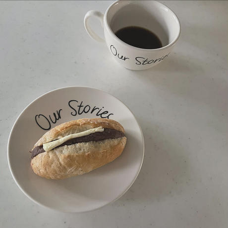 Our Stories カフェラテカップ&ソーサー