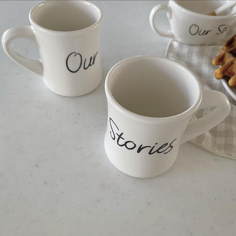 Our Stories  マグカップ