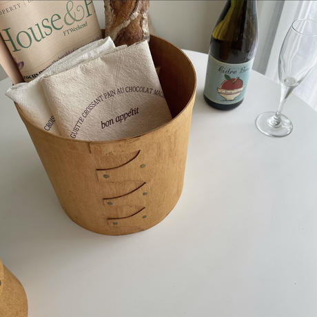 natural wood shaker box    L