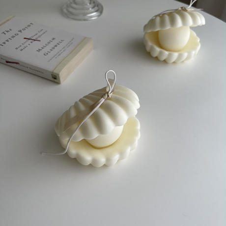 pearl shell  candle