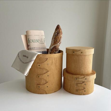 natural wood shaker box  M