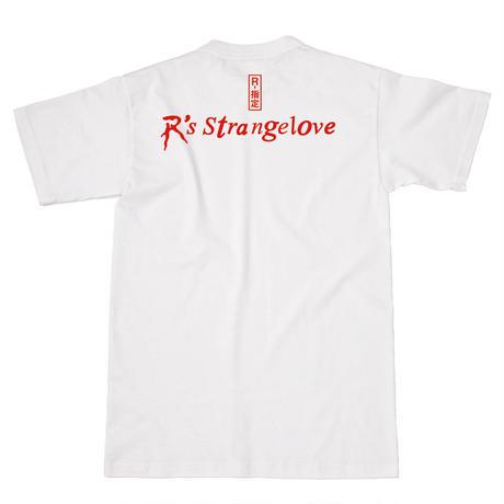 R Tシャツ【WHITE】