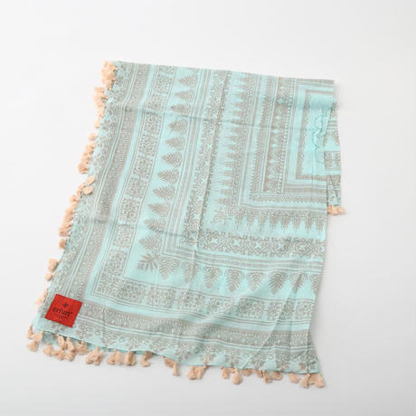 【SALE】erfurt〈エルフルト〉/ スカーフ【Pure Cotton W. Embro / 511014-40】