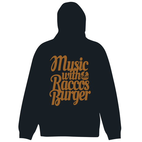 RACCOS BURGER 音楽と共にパーカー【受注生産】