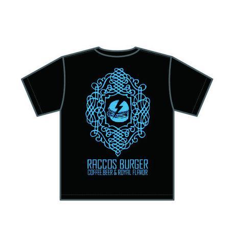 RACCOS BURGER Tシャツ