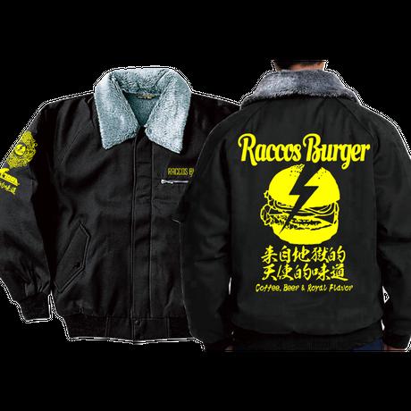 「寅壱 x RACCOS BURGER」コラボ ドカジャン
