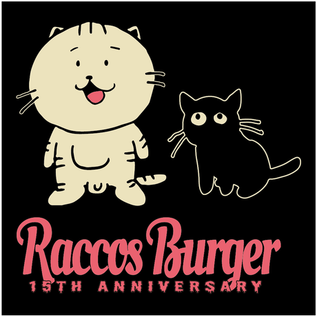 RACCOS BURGER 15thTシャツ【受注生産】※再販売