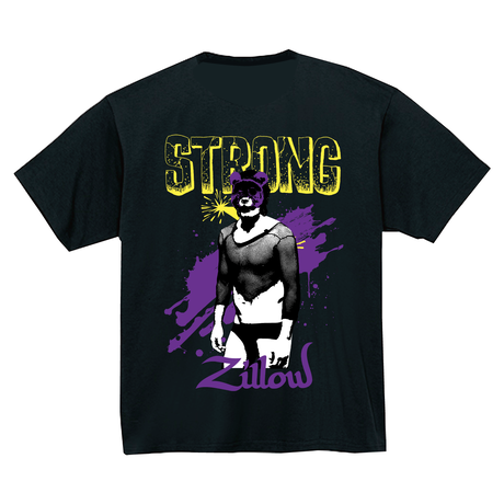 Strong Zillow T-Shirts Black