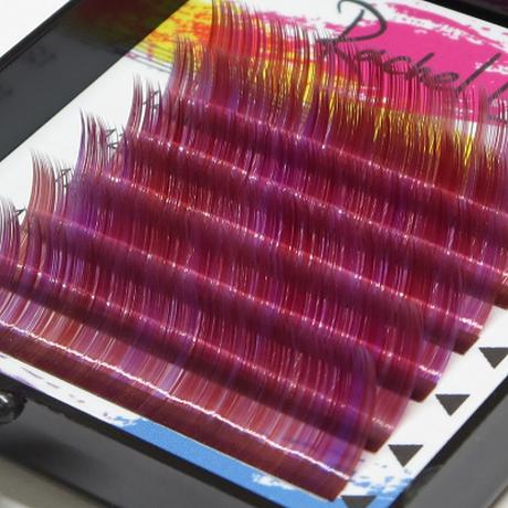 Raspberry Rose Color Lash Mix C Curl 0.06mm*12mm