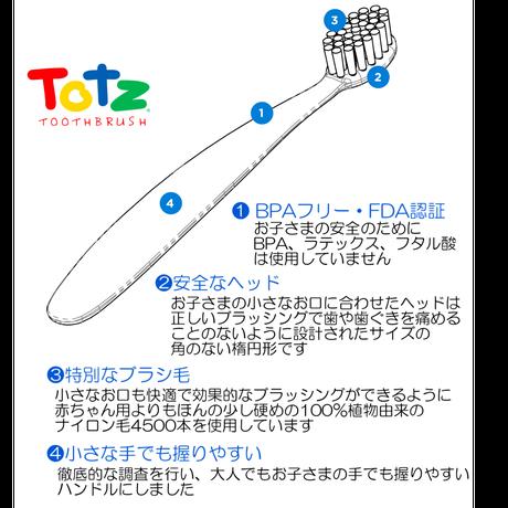 ラディウス トッズ歯ブラシ(生後18ヶ月〜)