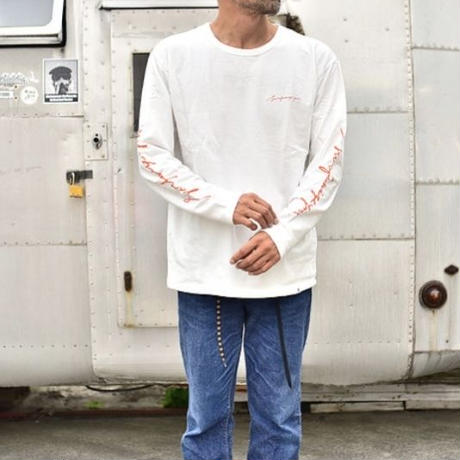 """【PIPPEN SUPPLY】 SURFANIZE YOU"""" ロングスリーブTEE"""