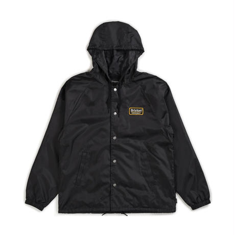 ブリクストン【BRIXTON】PALMER HOOD JACKET   color : Balck / Gold